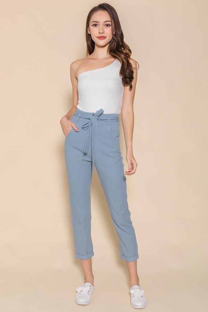 Mason Soft Cigarette Jeans (Carolina Blue)