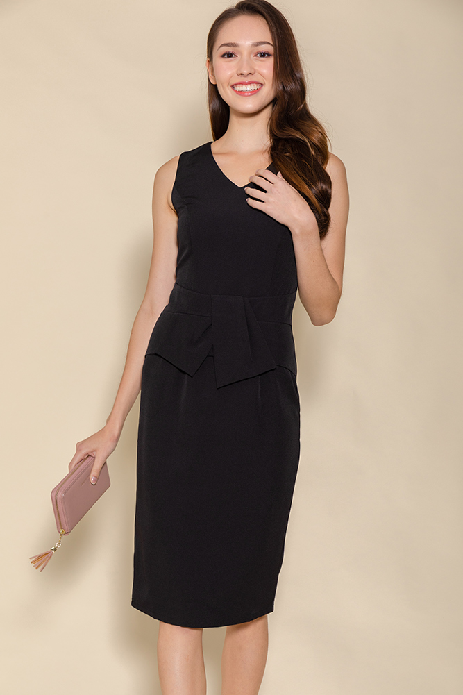 The Go-Getter Work Dress (Black)