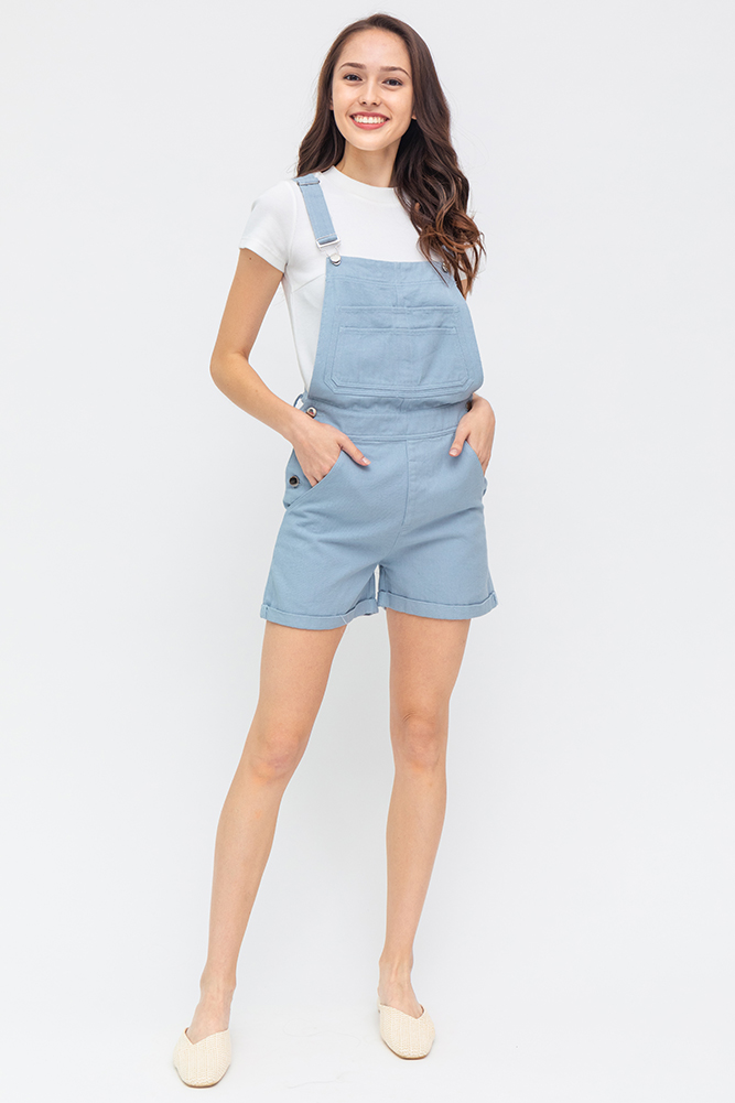Secret Adventures Denim Dungaree (Sky)