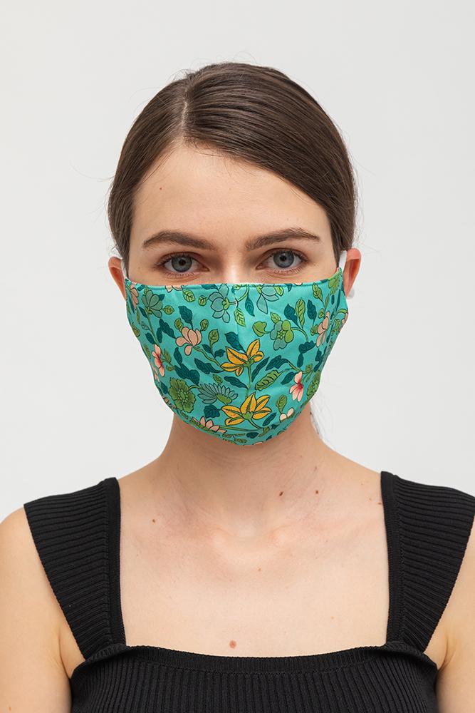 My Magical Garden Reversible Fabric Mask