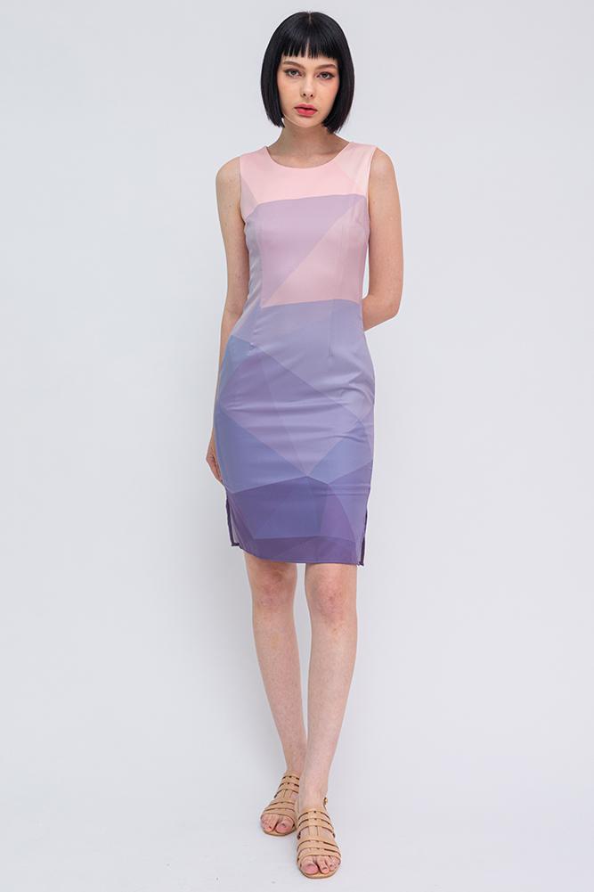 Allegra Ombre Dress (Dusk)